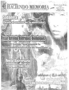 Haciendo Memoria N° 4 (1 al 15 de octubre de 2011)
